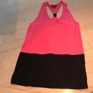 Black and Pink Bebe Dress Size L